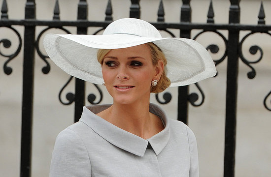 charlene wittstock royal wedding. and Queen at Royal Wedding